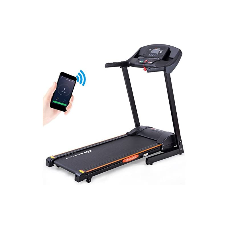 Goplus 2.5HP Folding Treadmill Electric