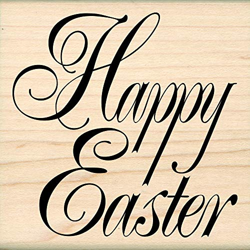 - Stamps by Impression ST 1161 Happy Easter Rubber Stamp 2.5