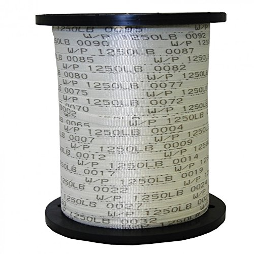 1/2'' x 5000' 1250 Lb Polyester Pull Tape / Pulling Tape - USA Made (1000', 3000', & 5000' Options) by The Ribbon Factory