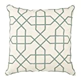 Universal Furniture P20-7002 Vintage Mint Trellis Accent Pillow