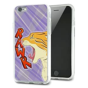 Kitty Cat Rawr Slim Fit Hybrid Case Fits Apple iPhone 6
