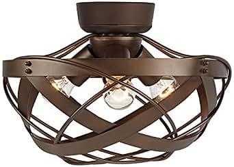 Orbital weave oil rubbed bronze fan light kit amazon ceiling fan light kits mozeypictures Choice Image