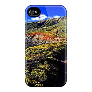 Shock-dirt Proof Coastal Beach Case Cover For Iphone 4/4s