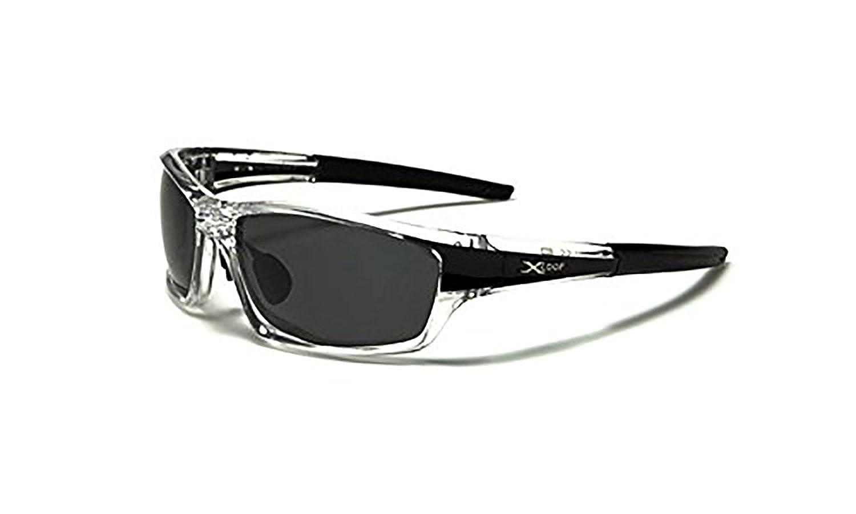 650d1c45c2 Amazon.com  X Loop Polarized Wrap Around Fishing Driving Cycling Golf  Running Sunglasses (Black
