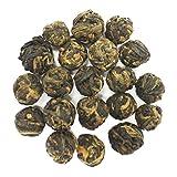 The Tea Farm - Black Dragon Pearl Black Tea - Yunnan, Chinese Loose Leaf Black Tea (8 Ounce Bag)