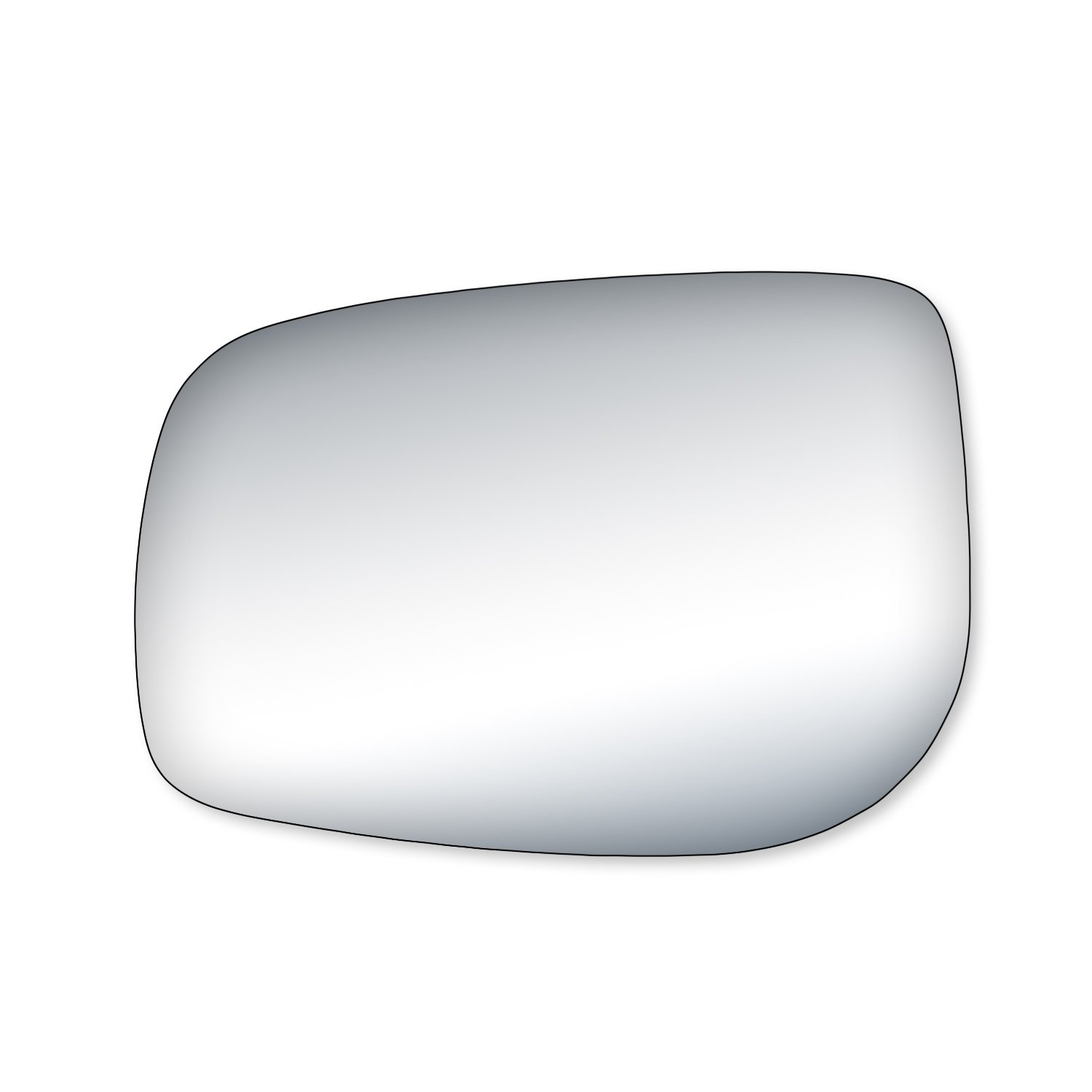 Amazon com fit system 99202 toyota yaris driver passenger side replacement mirror glass automotive