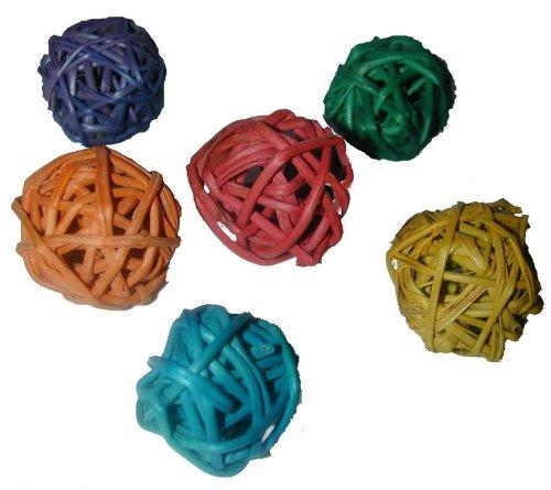 Image of Super Bird Creations Mini Munch Balls Bird Toy, 24-Pack