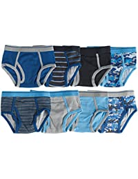 Boys 100% Cotton Briefs (Pack of 8)
