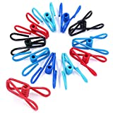 Swpeet 50 Pieces Multi-Purpose Metal Wire Clip