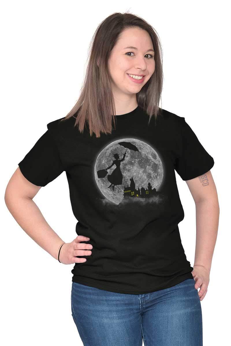 Mary Poppin Walt Disney Funny Shirt Cute Harry Potter Hogwart T-Shirt Tee by Brisco Brands (Image #4)