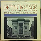 PETER BOCAGE NEW ORLEANS LIVING LEGENDS vinyl record