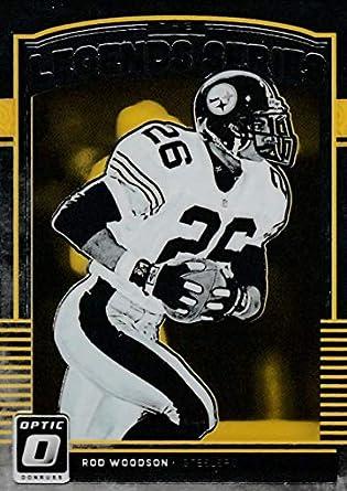 2c9bb7f58b6 2018 Donruss Optic Legends Series  LS-RW Rod Woodson Pittsburgh Steelers  Football Card