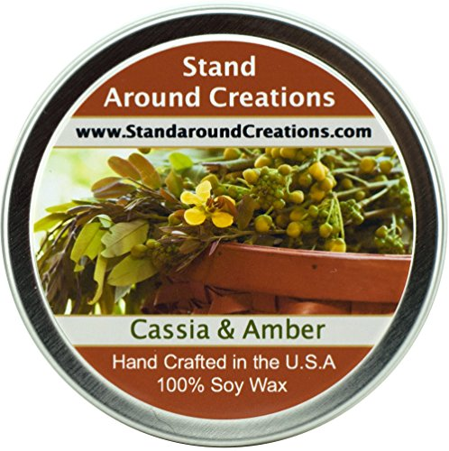 Premium 100% All Natural Soy Wax Aromatherapy Candle - 4oz T