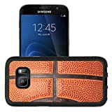 Luxlady Premium Samsung Galaxy S7 Aluminum Backplate Bumper Snap Case IMAGE ID 2114666 close up photo of a basketball that can be as a background design element