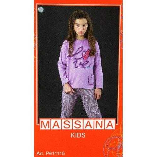 CAL FUSTER - Pijama Massana de Invierno Niña Talla 16: Amazon.es: Ropa y accesorios