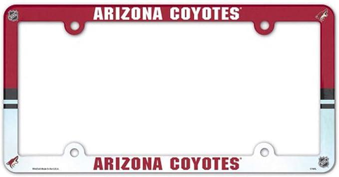 WinCraft Arizona Coyotes Plastic License Plate Frame