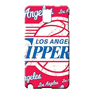 samsung note 3 Abstact Durable colorful phone cases covers los angeles clippers nba basketball
