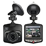 Dash Cam by Lexi - Dashboard Camera for Cars - Full HD Recording Camera with 2.4'' LCD Display Mirror, G Sensor, Loop Recording, Motion Detection, Parking Monitor - Car Video Recorder Security Camera