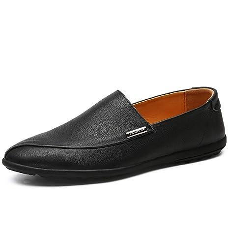 2019 Zapatos hombre Mocasines Mocasines Para Hombre Negro ...