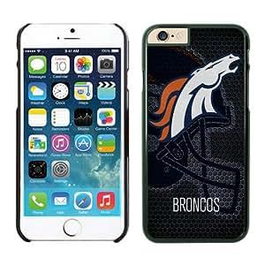 Denver Broncos Case For iPhone 6 Black 4.7 inches