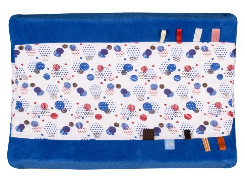 Snooze Baby Organic Happy Days Changing Mat Cover (Blue) by Snooze Baby