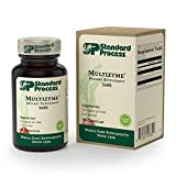 Standard Process - Multizyme - Digestion and Pancreatic Function Support Supplement, Provides Digestive Enzymes and Pancreatic Enzymes, Gluten Free - 90 Capsules