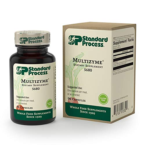 Standard Process - Multizyme - Digestion and Pancreatic Function Support Supplement, Provides Digestive Enzymes and Pancreatic Enzymes, Gluten Free - 90 Capsules by Standard Process (Image #8)