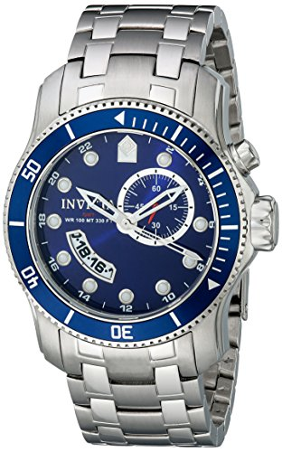 Invicta Men's 6090 Pro Diver Collection Scuba Stainless Steel Watch (Collection Scuba)