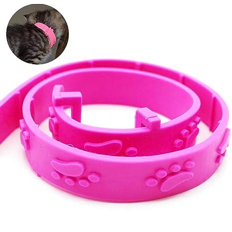Pulga Salud y Collar Tick para Gatos Prevención Tratamiento Herbal Repelente de Gatito del Gato Larga