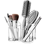 Top Quality Large Wavy Acrylic Makeup Brush and