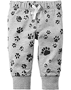 Carter's Baby Boys' Pull-On French Terry Pants