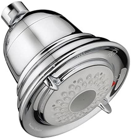 Satin Nickel American Standard 1660113.295 Flowise Traditional 3 Function Water Saving Showerhead