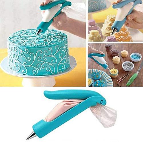- Decorating Pen - Multifunction Decorating Pen Flower Framed Mounting Patterns Gun Reusable Baking Amp Pastry - Tip Cake Cuisipro Sweet Cakes Food For Set Icing Kit
