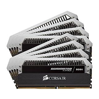 Corsair Dominator Platinum 128GB (8x16GB) DDR4 2666MHz C15 Desktop Memory (B010BBFS36) | Amazon price tracker / tracking, Amazon price history charts, Amazon price watches, Amazon price drop alerts