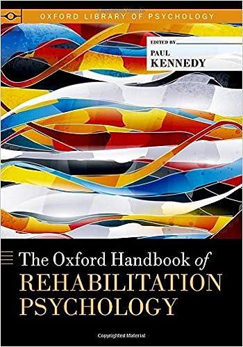 The oxford handbook of rehabilitation psychology oxford library of the oxford handbook of rehabilitation psychology oxford library of psychology 1st edition fandeluxe Gallery