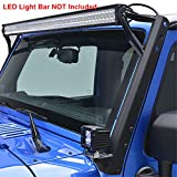 7 led bar brackets - E-Autogrilles Windshield Mounting Brackets for 52