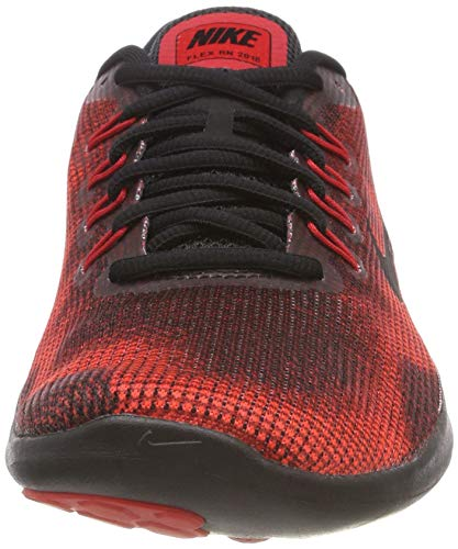 001 Herren Black Black Team Run Red Uomo Nike Running Laufschuh Flex University 2018 Multicolore Scarpe Red AqnvZ1wd