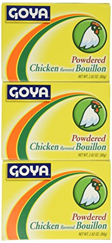 Goya Chicken (GOYA CUBITOS POLVO CHKN, 2.82 OZ PACK OF 6)