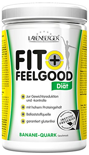 Layenberger Fit+Feelgood Schlankdiät Banane-Quark, 3er Pack (3 x 430 g)