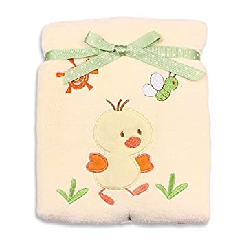 Amazon.com : Recién nacido extra manta gruesa felpa-bebé unisex con ...