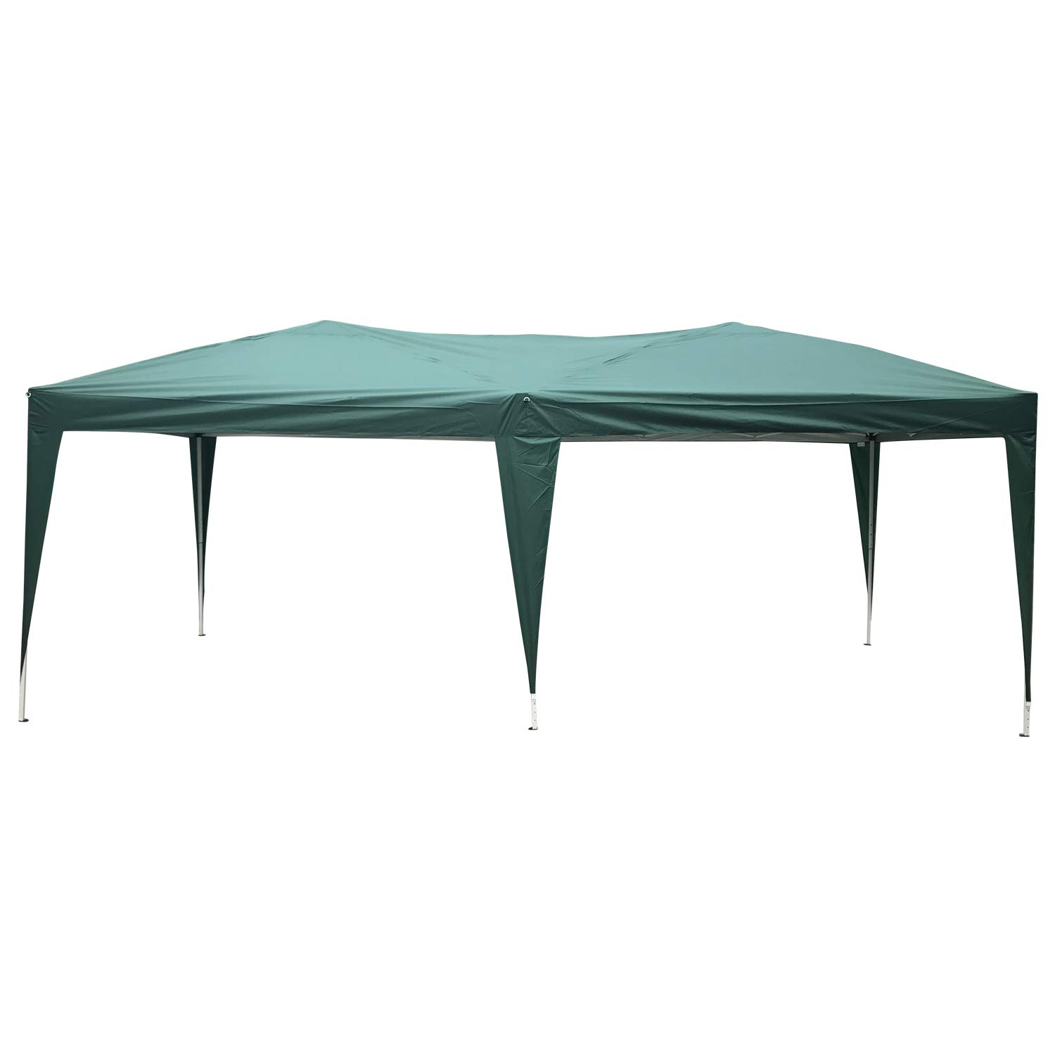 Kinbor Party Tent Portable Pop Up Gazebo Wedding Canopy BBQ Shelter w/Carrying Bag Green