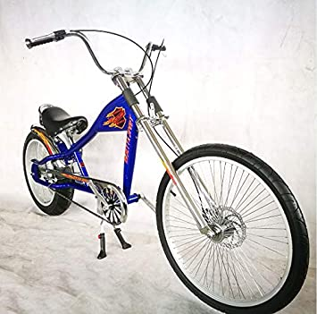 Rosetta Sport LA, Bicicleta baja tipo chopper, azul, 20: Amazon.es ...