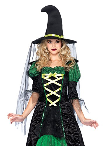 Leg Avenue Women's 2 Piece Storybook Witch,