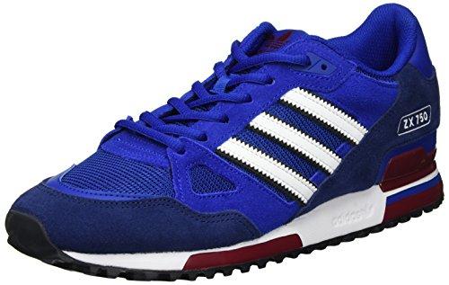 Adidas Herren Zx 750 Chaussures De Sport Blau (collégiale Royale / Ftwr Blanc / Bleu Foncé)