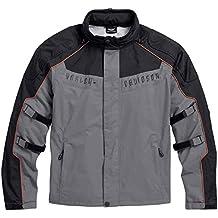 Harley-Davidson Men's Chimera 3-in-1 Waterproof Jacket, Black/Gray 97108-16VM