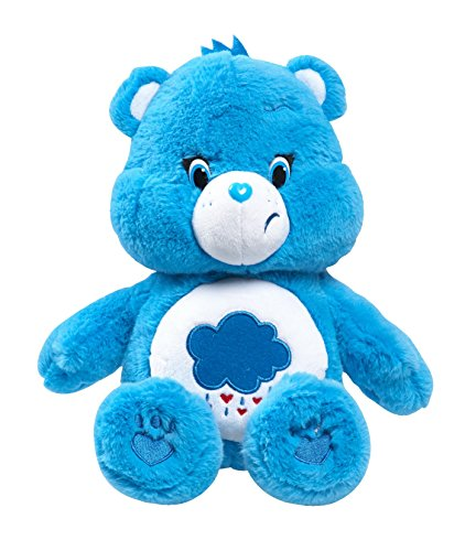 Grumpy Bear Plush (Just Play Care Bears Grumpy Medium Plush with DVD)
