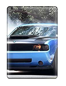 New Smoke Coming Out Blue Car Tires Tpu Case Cover, Anti-scratch Michael Volpe Phone Case For Ipad Air
