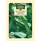 Seeds of Change  Certified Organic Seed, Sugar Pod 2 Snow Pea