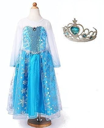 4e99d89339deb アナと雪の女王 ドレス キラキラティアラセット (150cm)