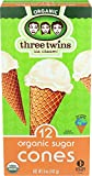 Three Twins Organic Sugar Cones, 5 oz